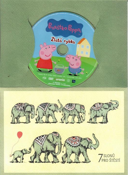 Prasátko Peppa - Zlatá rybka ( dárkový papír obal ) DVD
