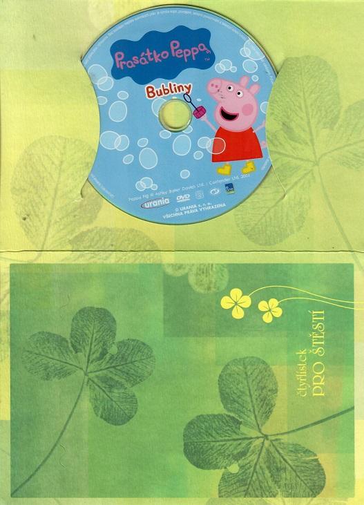 Prasátko Peppa - Bubliny ( dárkový papír obal ) DVD