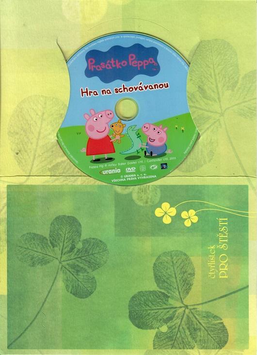 Prasátko Peppa 1 - Hra na schovávanou ( dárkový papír obal ) DVD