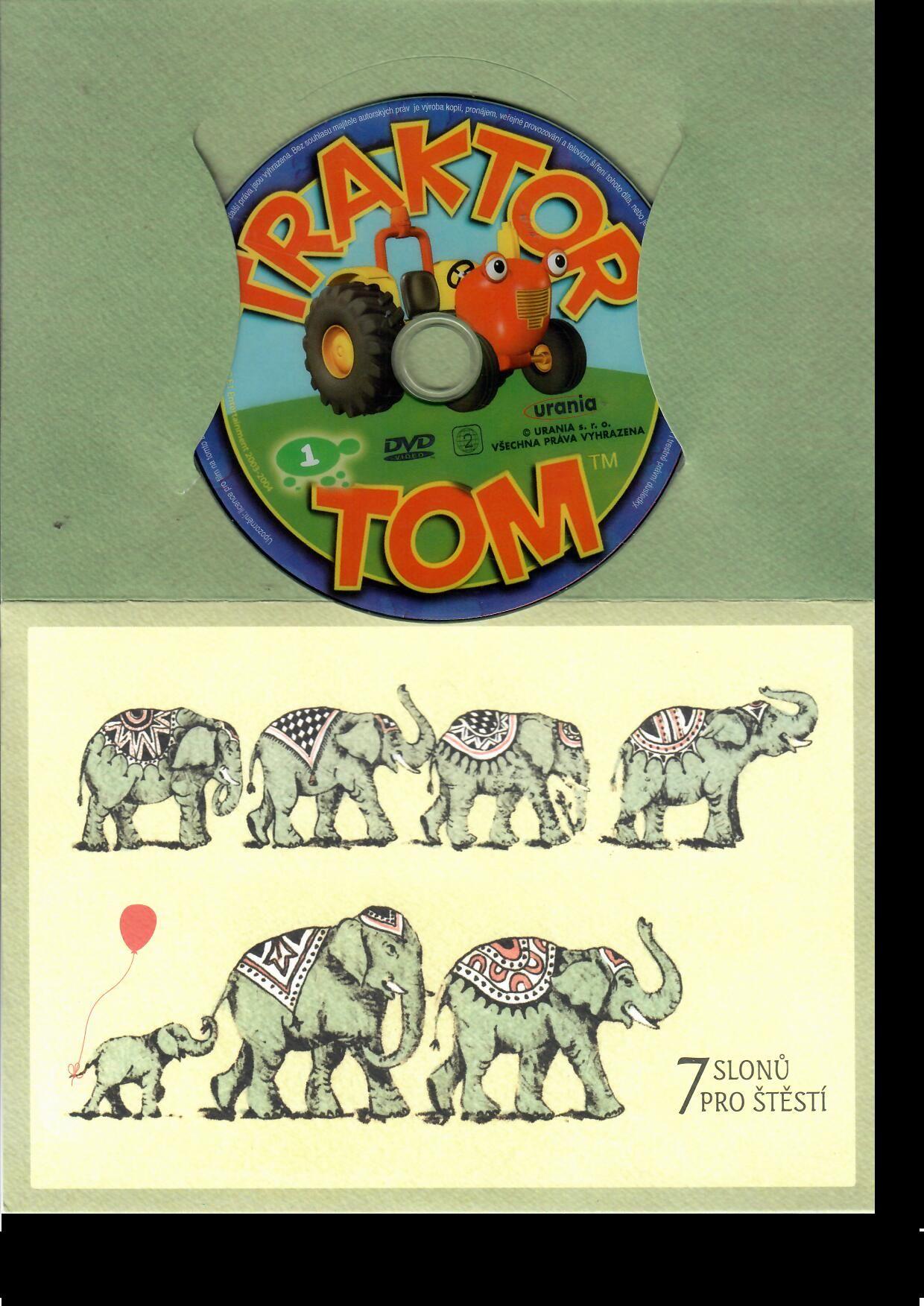 Traktor Tom 1 ( dárkový papír obal ) DVD