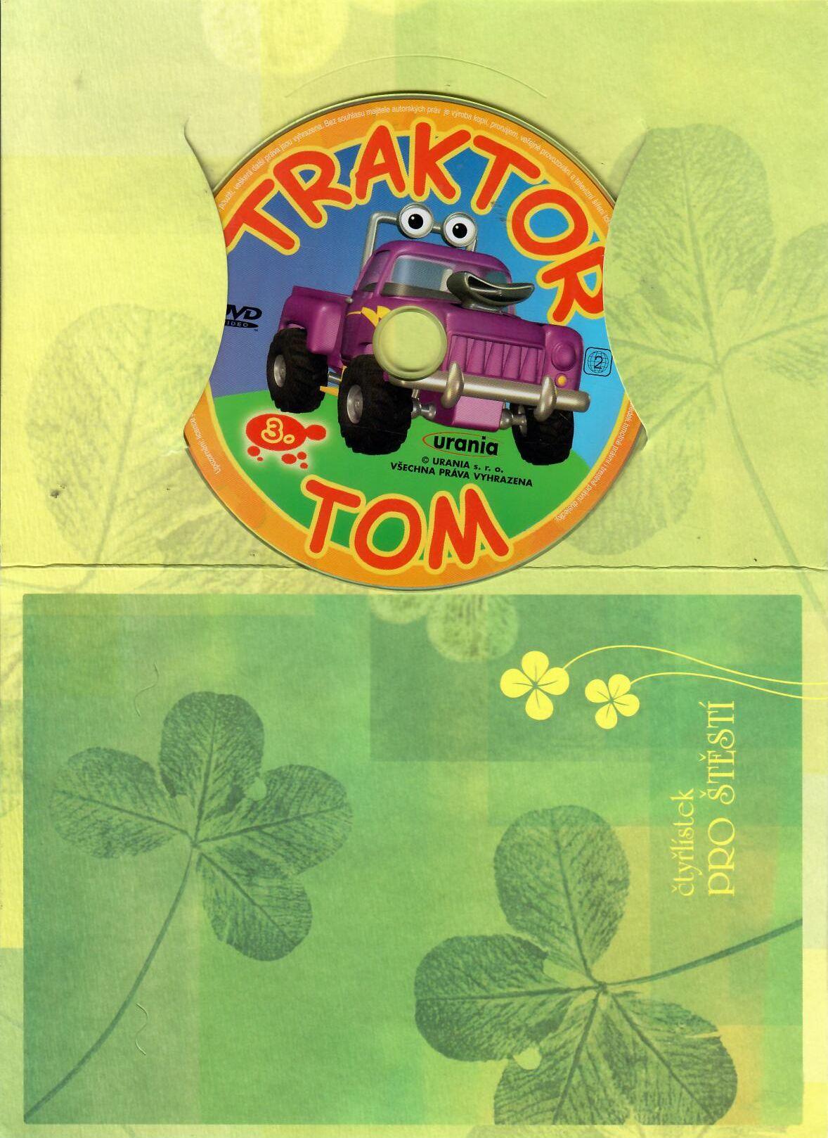 Traktor Tom 3 ( dárkový papír obal ) DVD