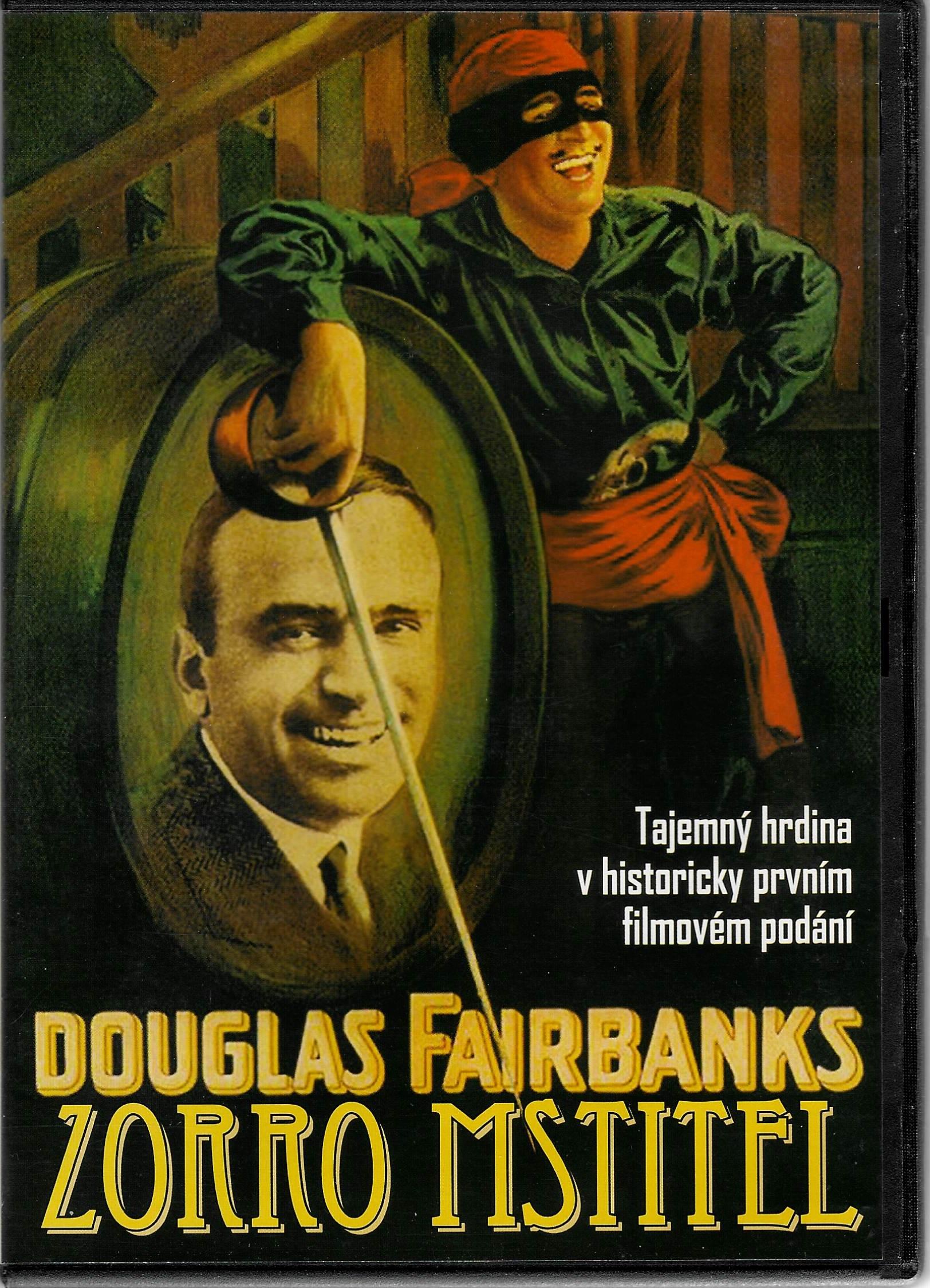 Zorro mstitel ( Douglas Fairbanks) - DVD plast