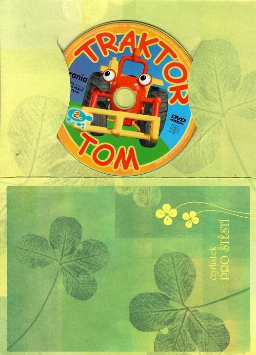 Traktor Tom 2 ( dárkový papír obal ) DVD
