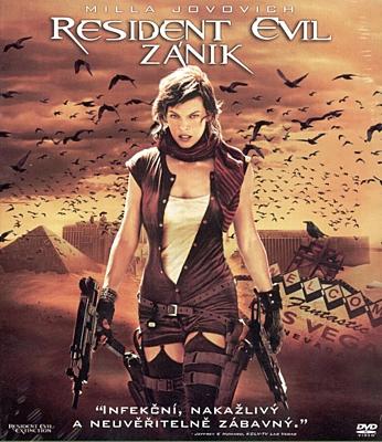 Resident Evil: Zánik - DVD plast