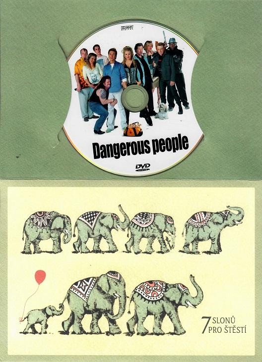 Dangerous people / Léčka ( dárkový papír obal ) DVD