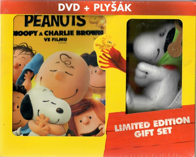 Peanuts: Snoopy a Charlie Brown ve filmu ( limitovaná edice DVD + plyšák ) - DVD