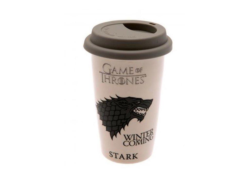 Hrnek Game of Thrones - Stark cestovní 340 ml