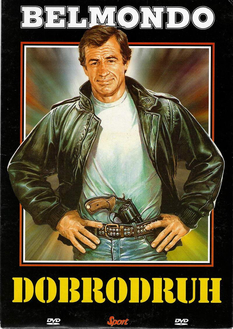 Dobrodruh (Belmondo) - DVD pošetka