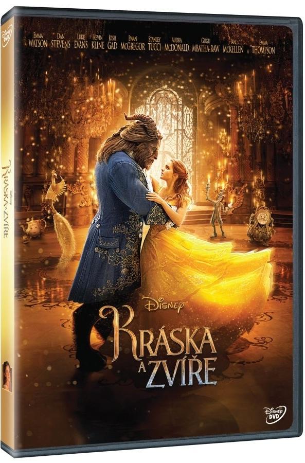 Kráska a zvíře ( plast ) DVD