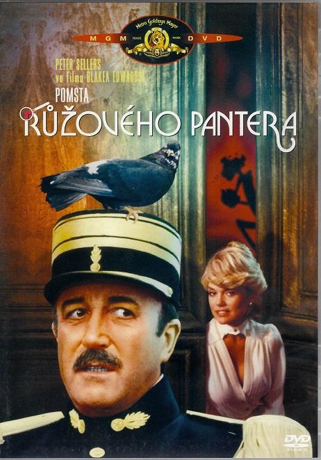 Pomsta Růžového pantera ( plast ) DVD
