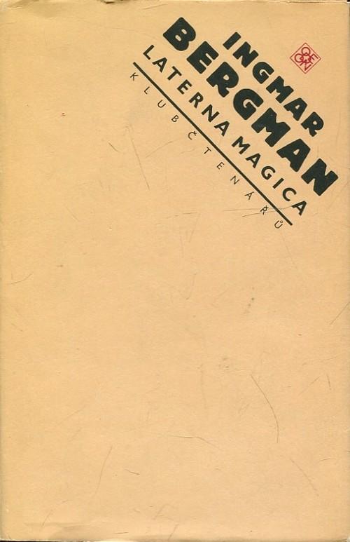 Laterna magica - Ingmar Bergman /bazarové zboží/
