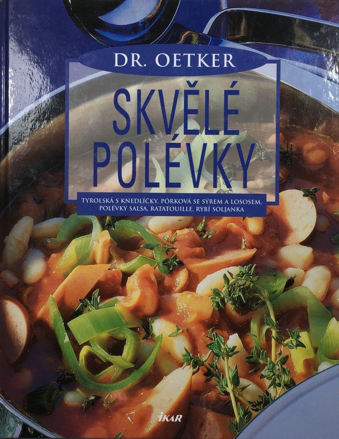 Skvělé polévky - Dr. Oetker /bazarové zboží/
