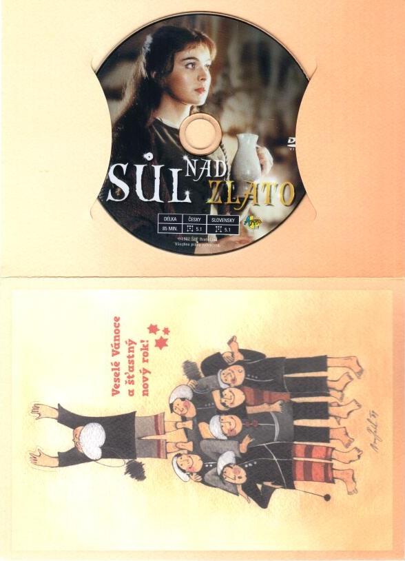 Sůl nad zlato - DVD ( dárková obálka )