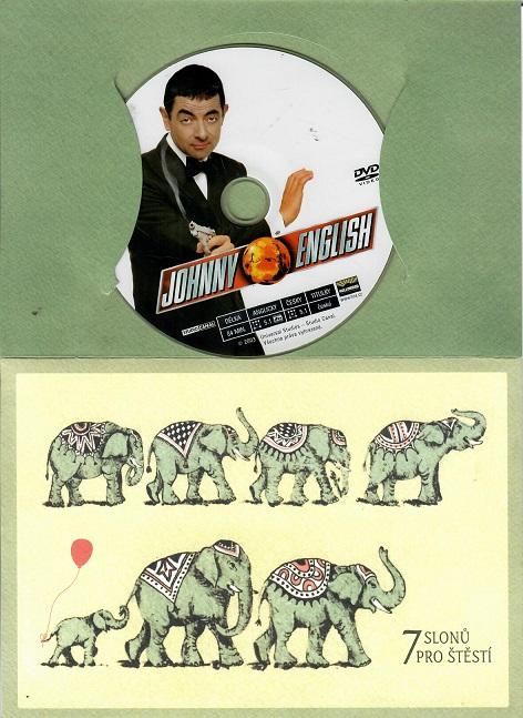 Johnny English ( dárkový papír obal ) DVD