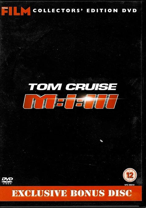 Mission: Impossible III - Exclusive bonus disc ( slim ) DVD - originální znění
