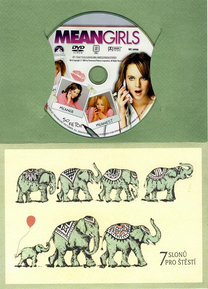 Mean Girls  / Protivný sprostý holky ( dárkový papír obal ) DVD