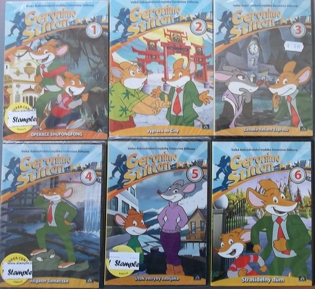 Kolekce Myšák Geronimo Stilton 6x DVD