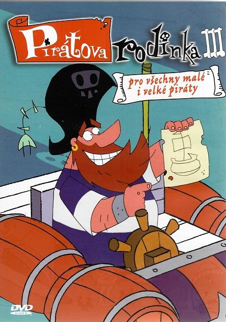 Pirátova rodinka III ( plast ) DVD