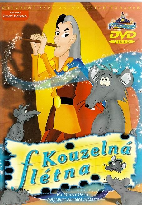Kouzelná flétna ( plast/ slim ) DVD