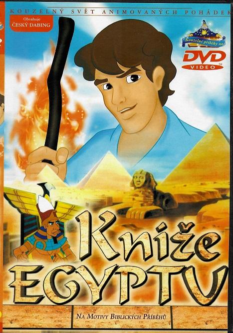 Kníže Egypta ( plast ) DVD
