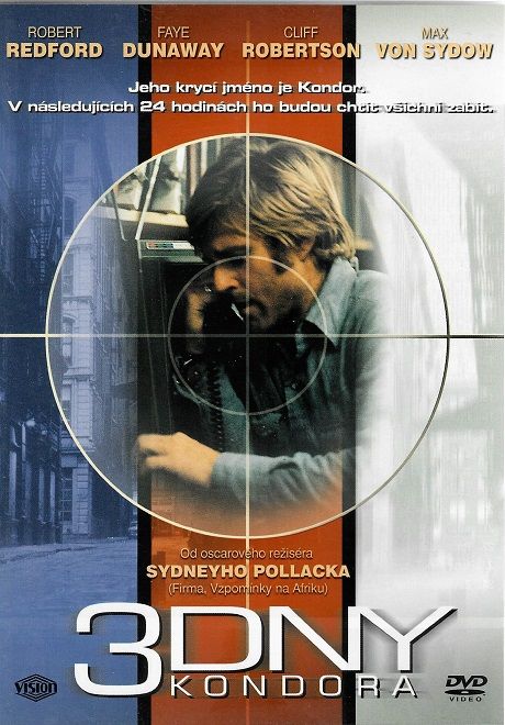 3 Dny Kondora ( originální znění, titulky CZ ) plast DVD