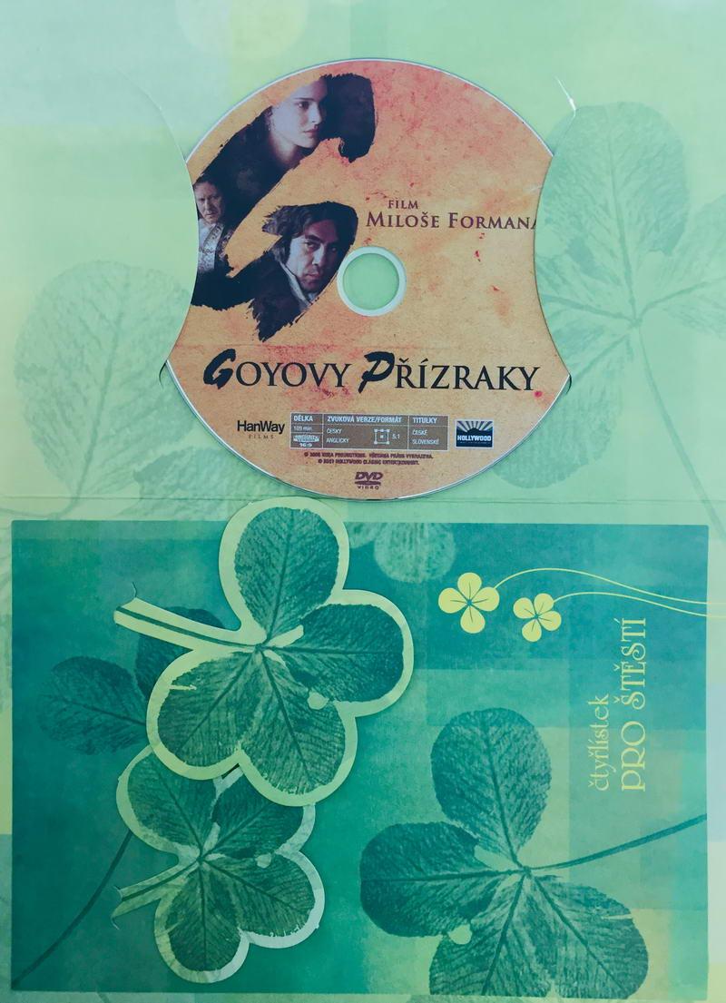 Goyovy přízraky - DVD /dárkový obal/