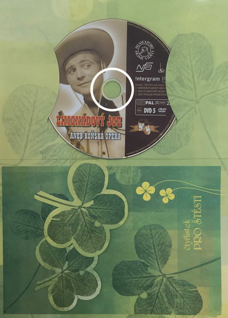Limonádový Joe aneb koňská opera - DVD /dárkový obal/