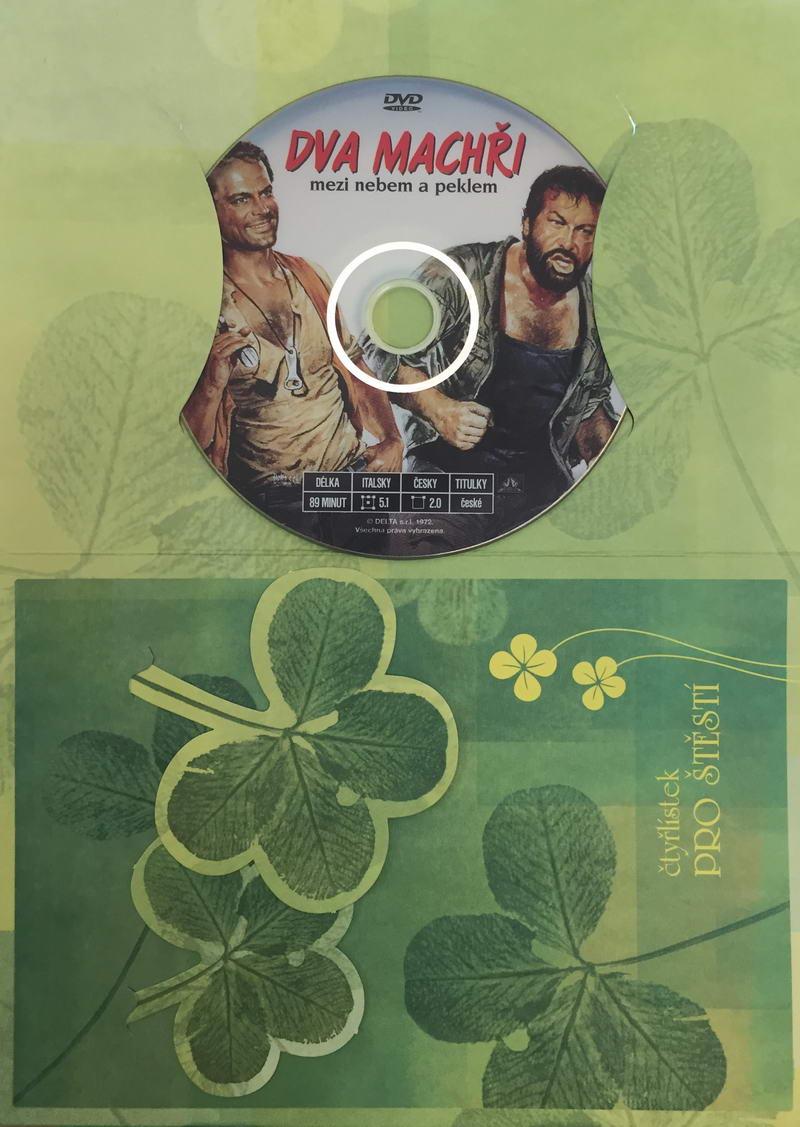 Dva machři mezi nebem a peklem - DVD /dárkový obal/