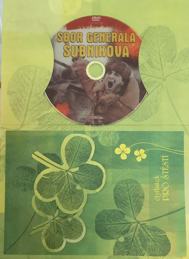 Sbor generála Šubnikova - DVD /dárkový obal/