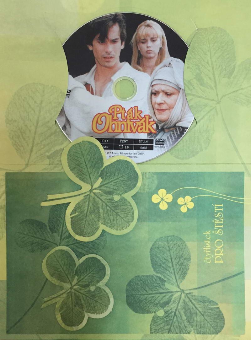 Pták Ohnivák - DVD /dárkový obal/