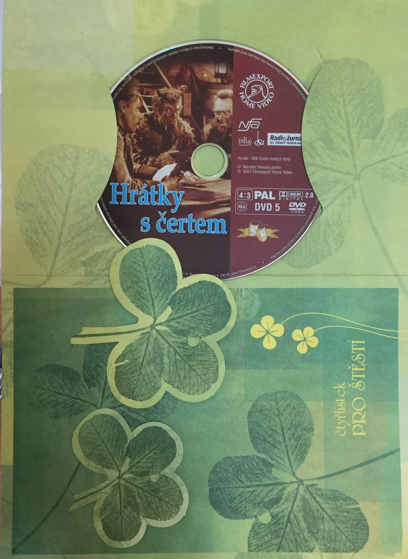 Hrátky s čertem - DVD /dárkový obal/