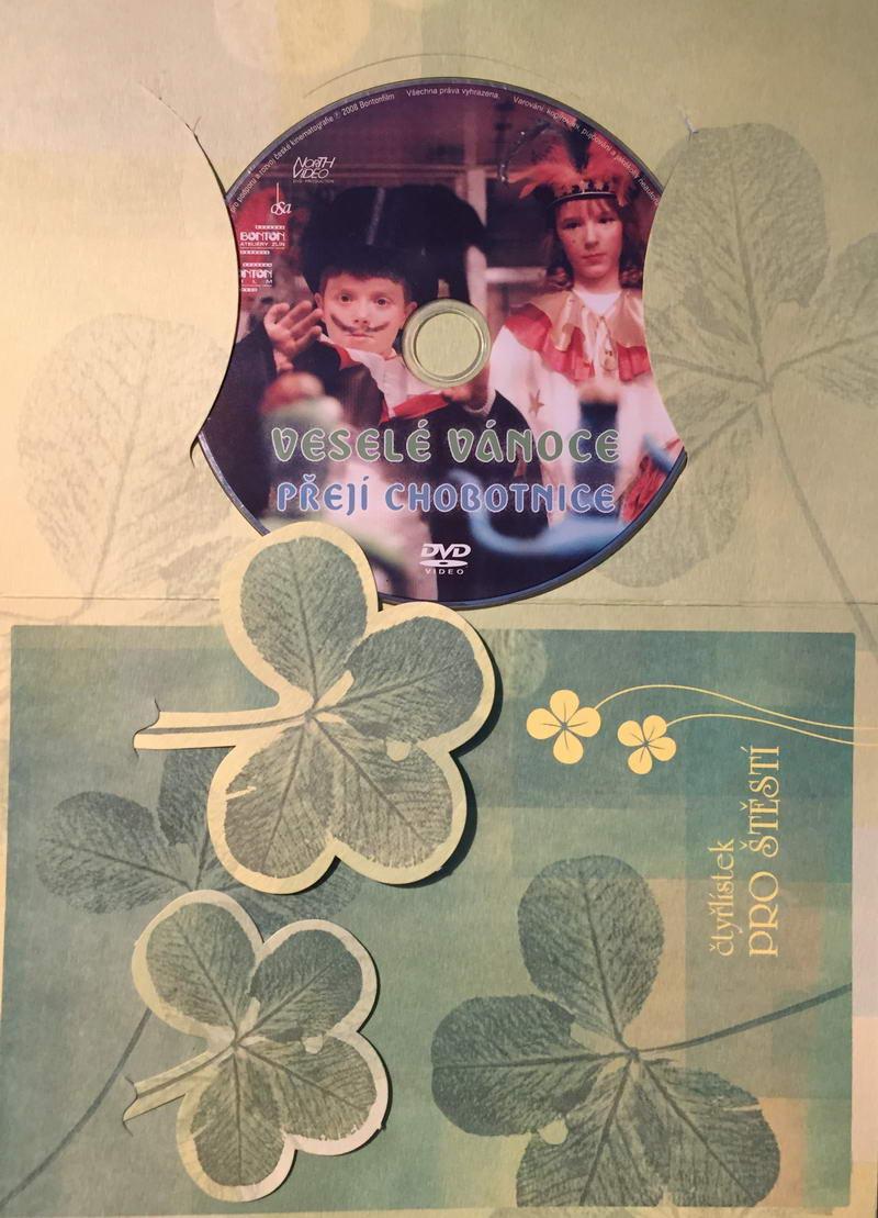 Veselé vánoce přejí chobotnice - DVD /dárkový obal/