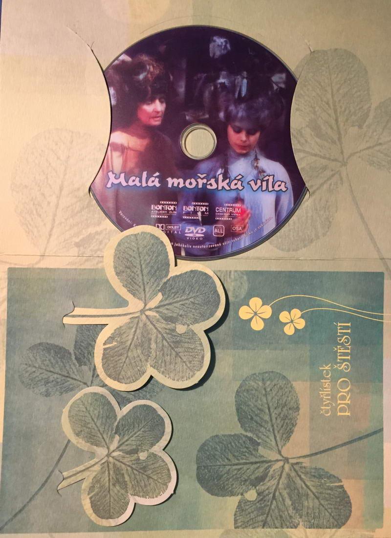 Malá mořská víla - DVD /dárkový obal/