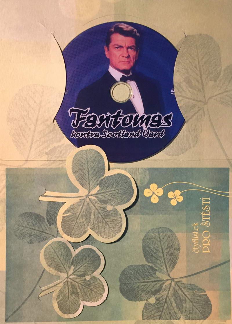 Fantomas kontra Scotland Yard - DVD /dárkový obal/