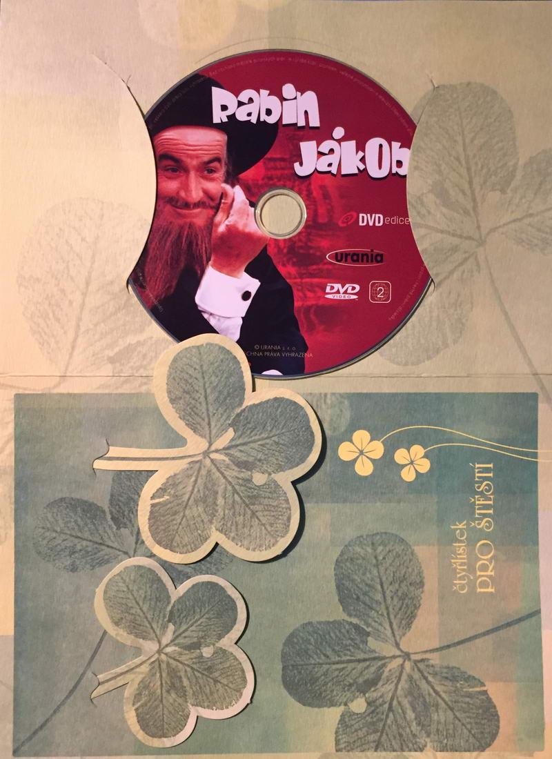 Rabín Jákob - DVD /dárkový obal/