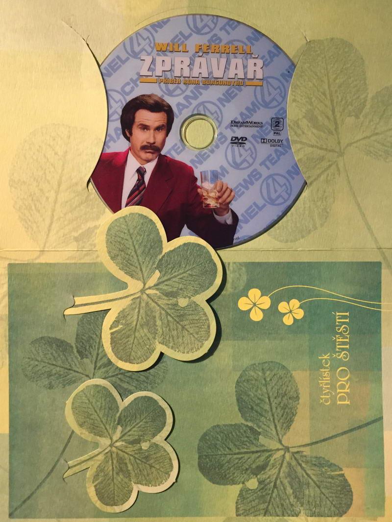 Zprávař: Příběh Rona Burgundyho - DVD /dárkový obal/
