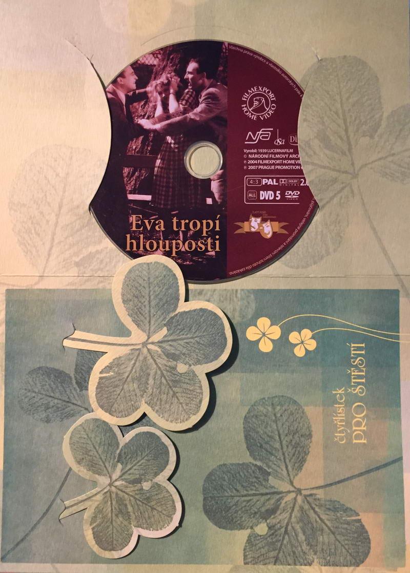 Eva tropí hlouposti - DVD /dárkový obal/