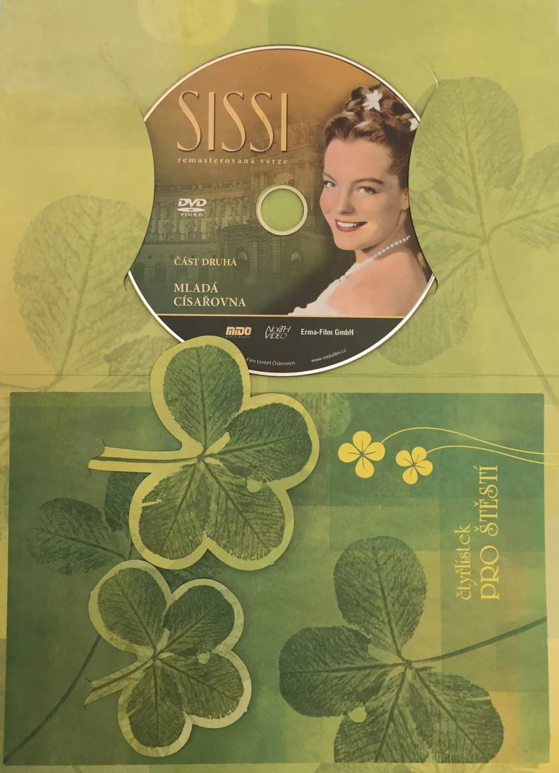 Sissi - Mladá císařovna - část druhá - DVD /dárkový obal/