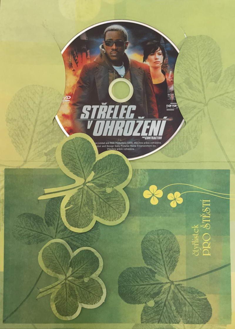 Střelec v ohrožení - DVD /dárkový obal/
