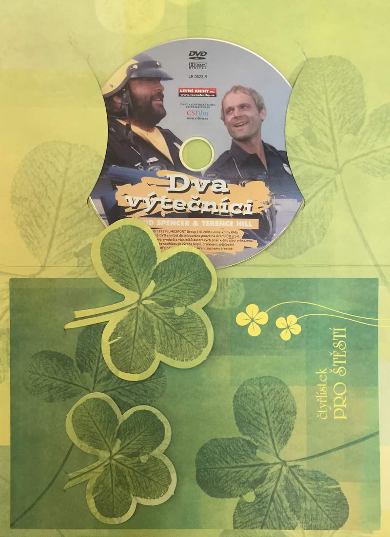 Dva výtečníci - DVD /dárkový obal/
