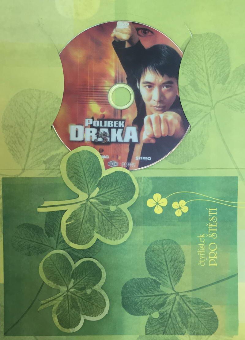 Polibek draka - DVD /dárkový obal/
