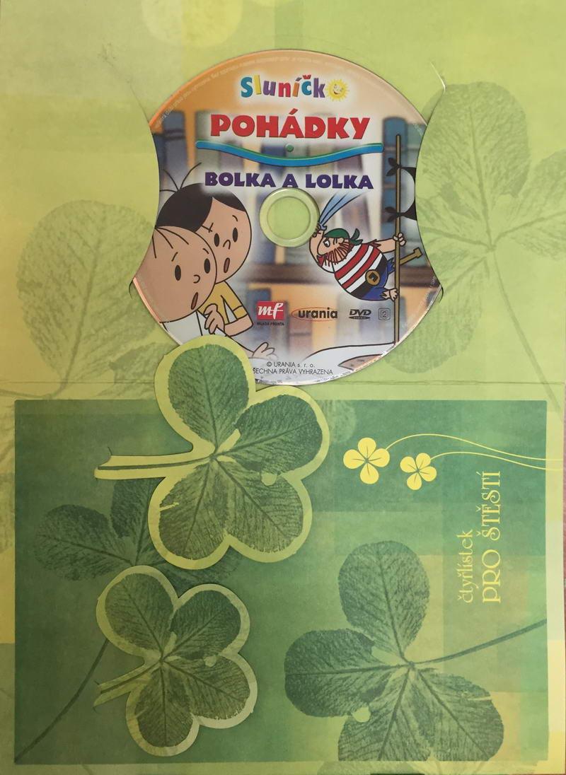 Pohádky Bolka a Lolka - DVD /dárkový obal/