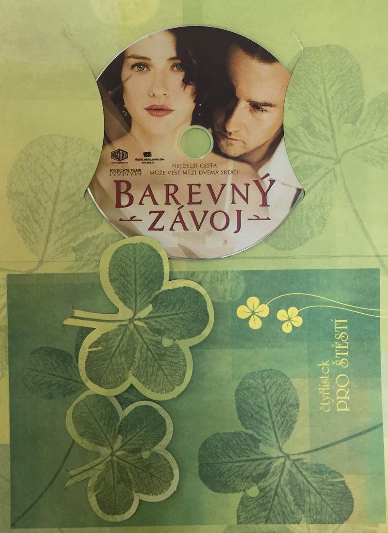 Barevný závoj - DVD /dárkový obal/