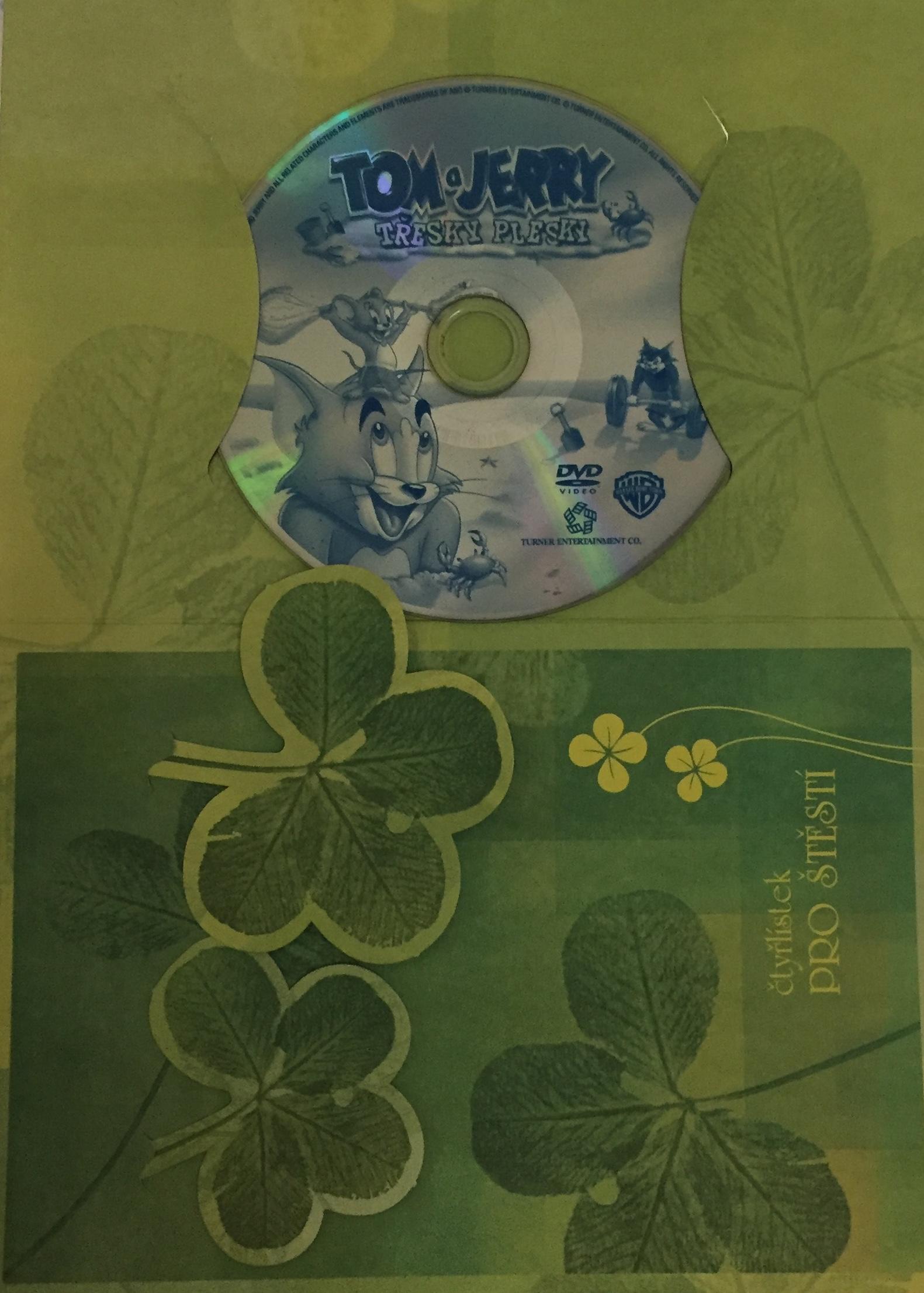 Tom a Jerry - Třesky Plesky - DVD /dárkový obal/
