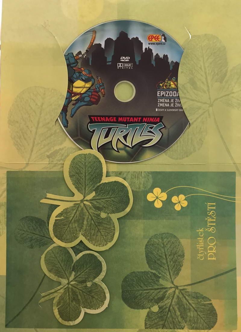 Želvy Ninja TMNT 1 - Změna je život - DVD /dárkový obal/
