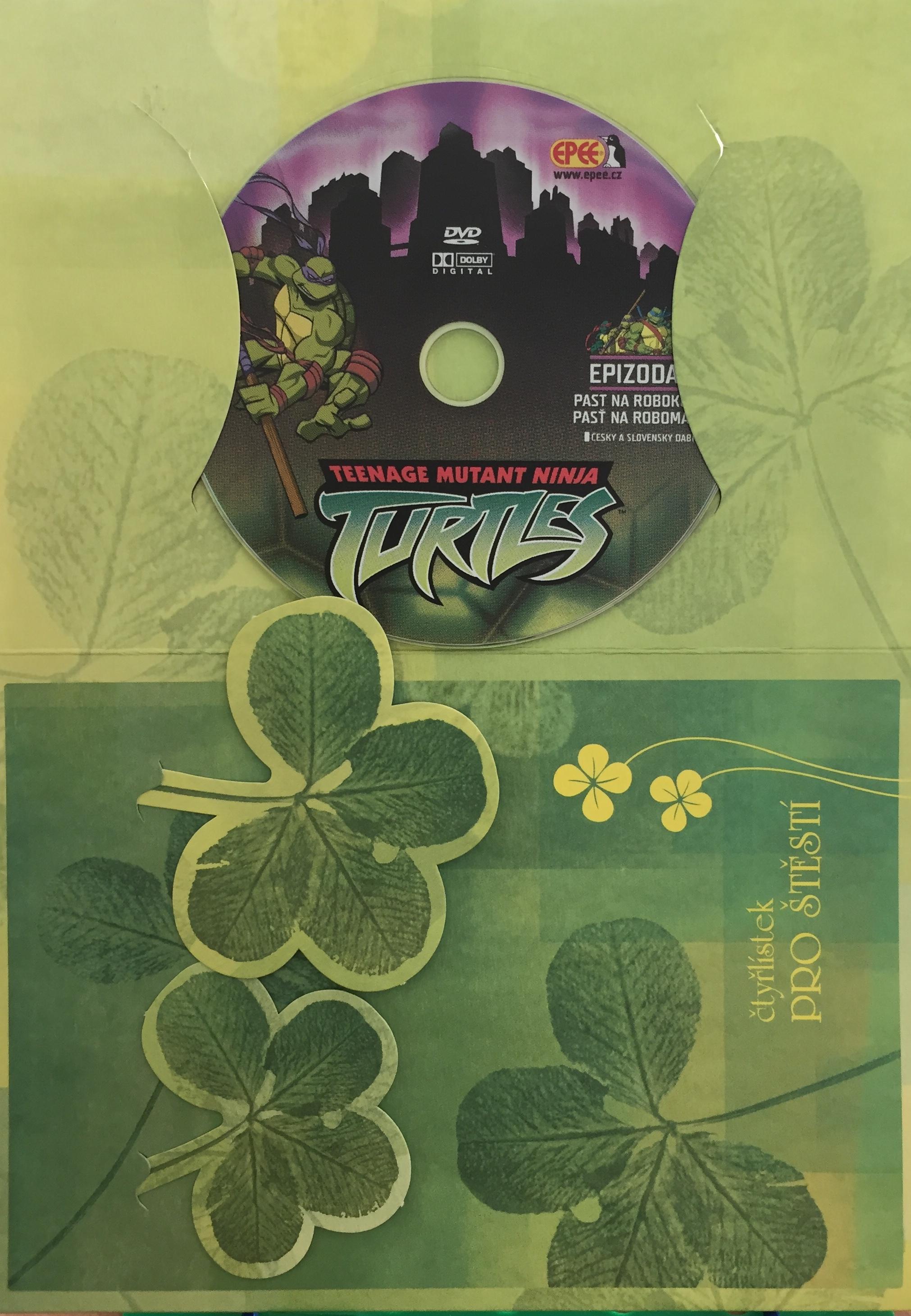 Želvy Ninja TMNT 2 - Past na robokočky - DVD /dárkový obal/