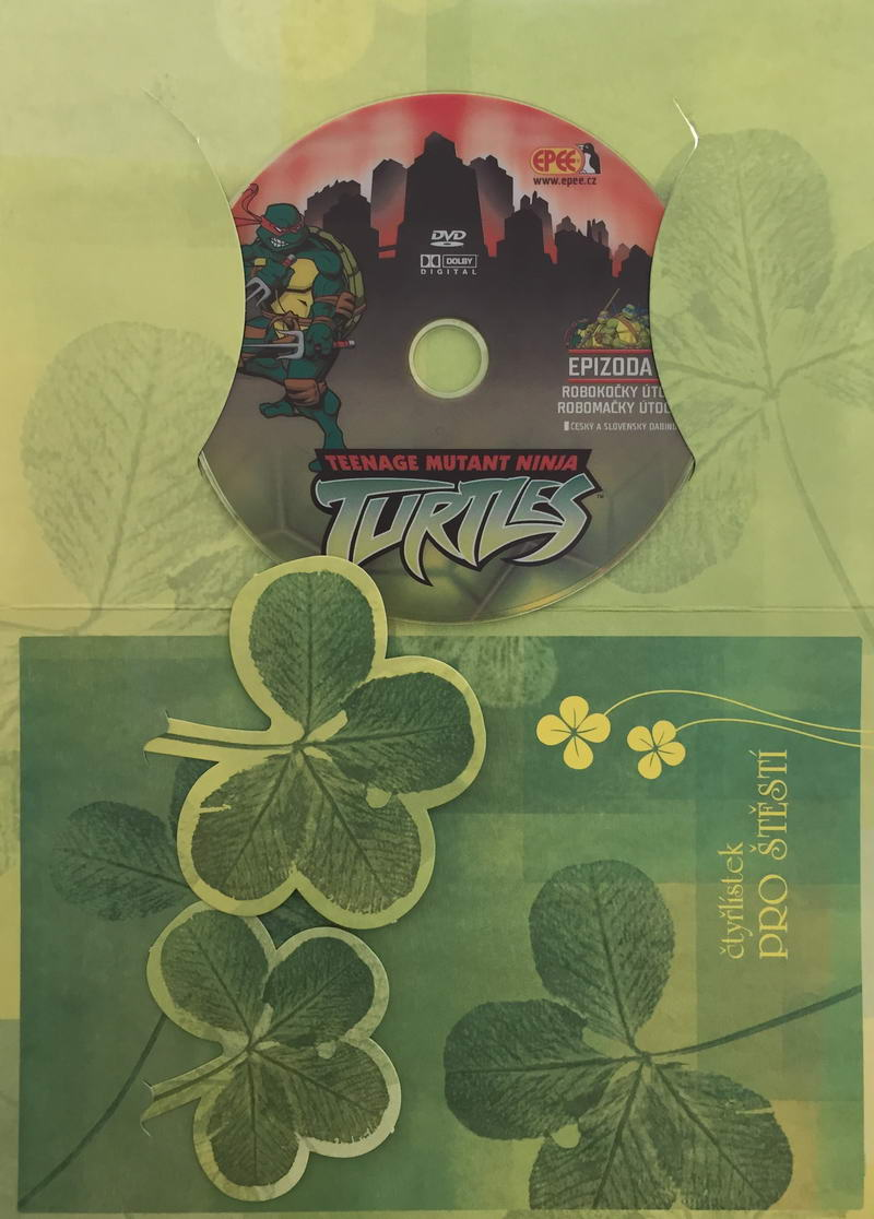 Želvy Ninja TMNT 3 - Robokočky útočí - DVD /dárkový obal/