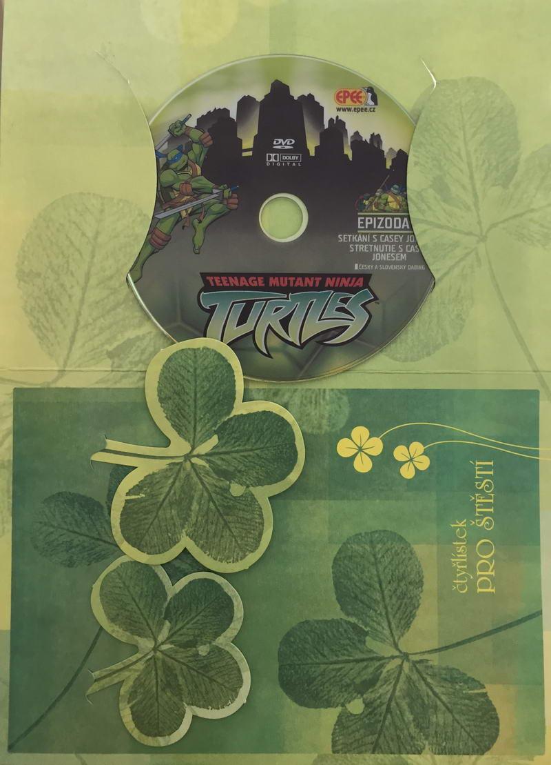Želvy Ninja TMNT 4 - Setkání s Casey Jonesem - DVD /dárkový obal/