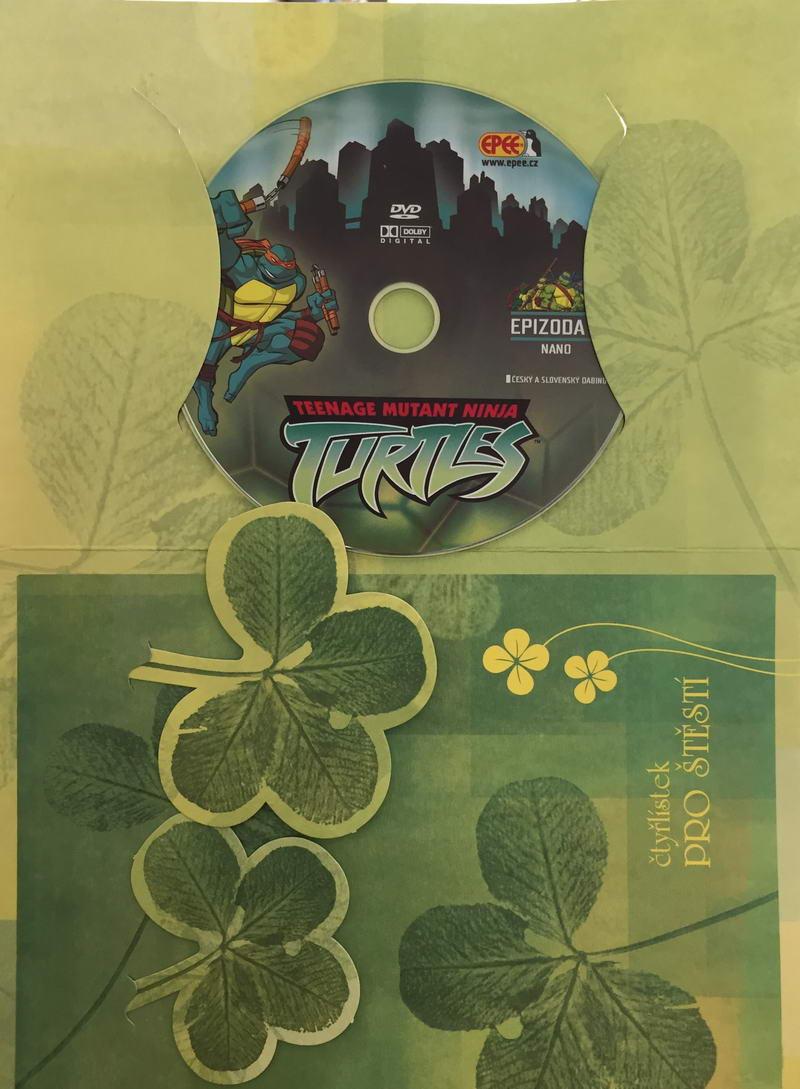 Želvy Ninja TMNT 5 - Nano - DVD /dárkový obal/