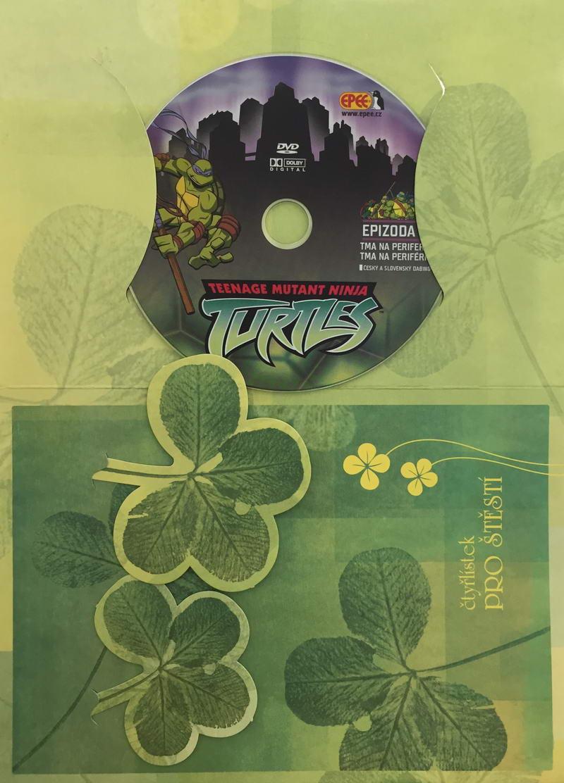 Želvy Ninja TMNT 6 - Tma na periferii - DVD /dárkový obal/